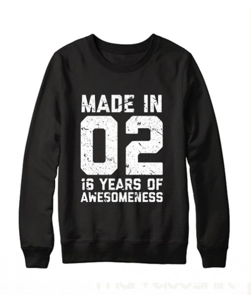 16th Birthday Sweatshirt