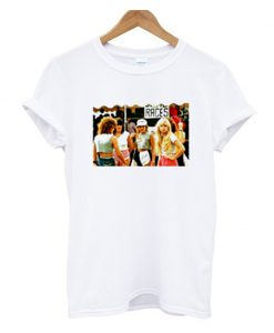 1980s fashion for teenager girls t-shirt