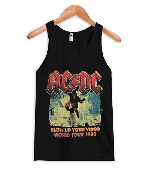 AC DC tank top world tour 1988
