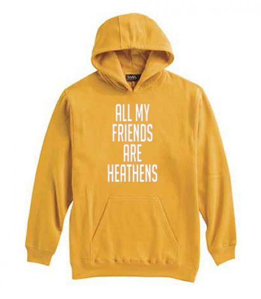 All My Friends Are Hetahens Hoodie