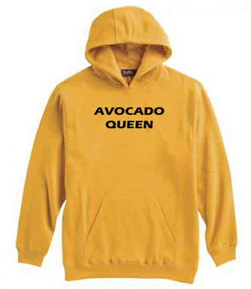 Avocado Queen Yellow Hoodie