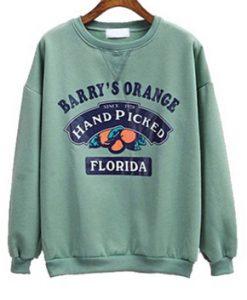 Barry Orange Florida Sweatshirt