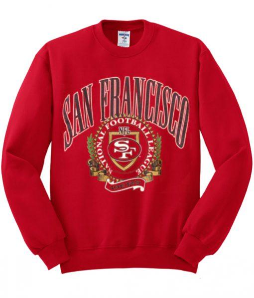 San Fransisco National Football League Sweatshirt