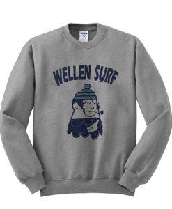 Vintage Wellen Surf Sweater Surfing Wear Sweatshirt