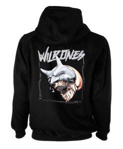 Wild Ones Back Black Hoodie