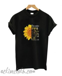 Sunflower December 1991 27 Years T Shirt
