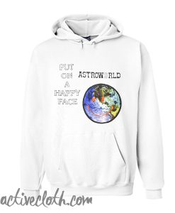 AstroWorld Put On A Happy Face Unisex adult Hoodie