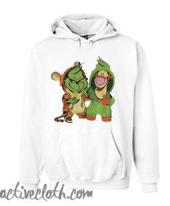Baby Grinch and baby Tigger Hoodie