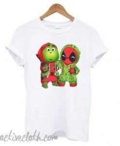 Best friends Grinch and Deadpool Christmas T shirt