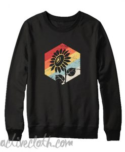 Retro Sunflower Sweatshirt