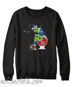 Return to site Michigan Grinch Santa Toilet Sweatshirt