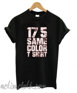 17 5 Same Color fashionable T shirt