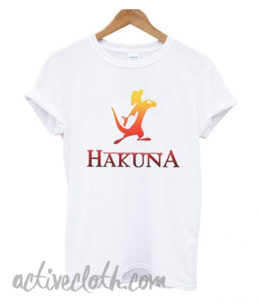 Hakuna Matata Couples fashionable T-shirt