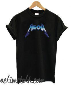 MEOW-tallic fashionable T-shirt