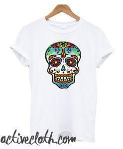 Mexican Sugar Skull Day of the Dead Dias de los muertos fashionable T-Shirt