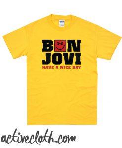 Bon Jovi Have A Nice Day fashionable T Shirt