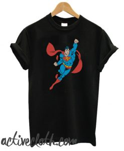 Superman Right Fist Raised fashionable T-Shirt