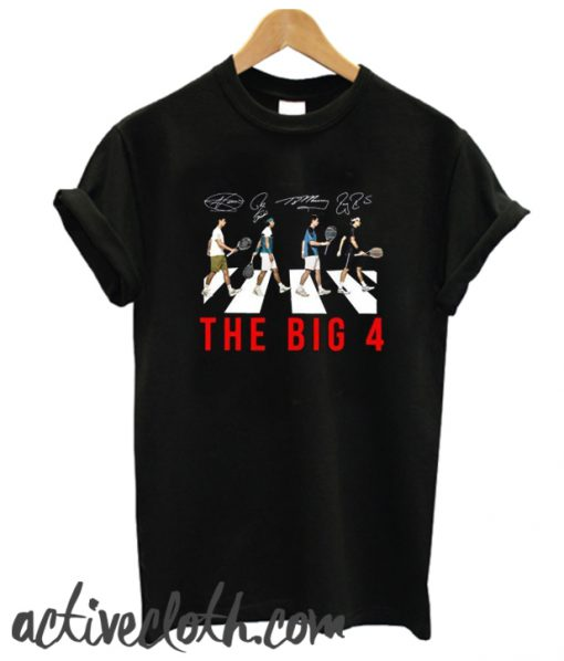 The Big 4 Four Famous Top Tennis Players fashionable T-Shirt