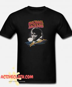 1982 MICHAEL JACKSON THRILLER fashionable T shirt