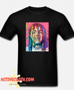 6ix9ine Illustration fashionable T-Shirt
