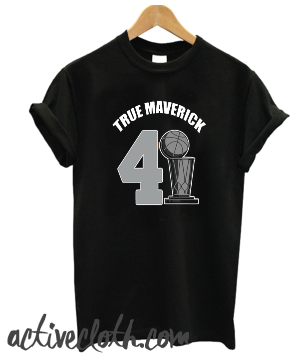 Dallas Mavericks Dirk True Maverick 41.21.1 fashionable T-shirt
