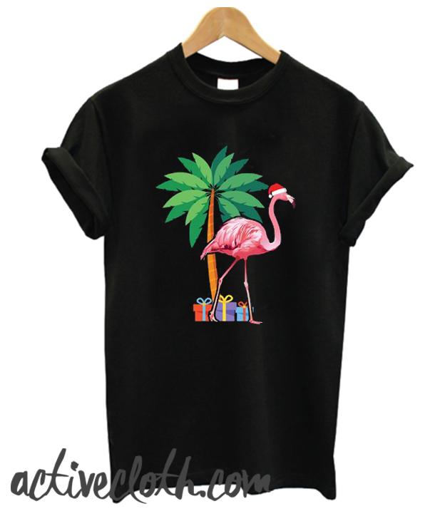 Holiday Flamingo fashionable T Shirt