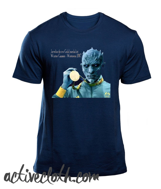 Javelin White Walker fashionable T Shirt