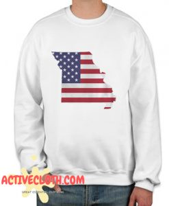 4th Of July Missouri Fashionable Sweatshirt