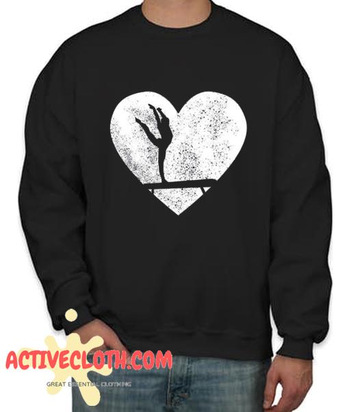 Acrobatics Heart Fashionable Sweatshirt