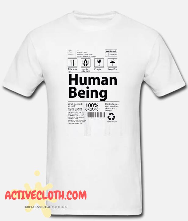 Human Being Fashionable T shirt