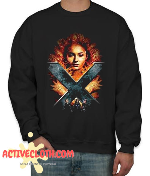 Jean Grey Darkside Fashionable Sweatshirt
