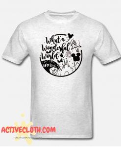 Wonderful World Fashionable T Shirt