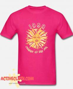 1969 Summer Of The Sun Fashionable T Shirt