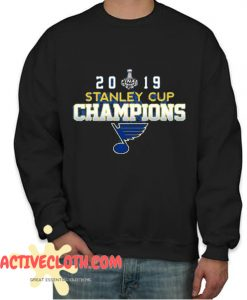 2019 Stanley Cup Champions St Louis Blues Fashionable Sweatshirt