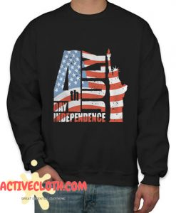 4th July Day Independence Fashionable Sweatshirt