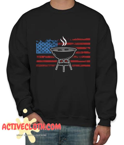 4th of July Fashionable Sweatshirt