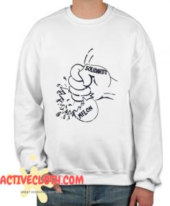 80s Labor Solidarity In 1986 Fashionable Sweatshirt