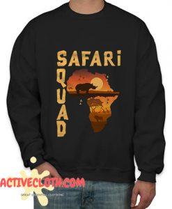 Safari Squad Fashionable Sweatshirt