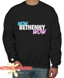 WOW BETHENNY WOW Fashionable Sweatshirt