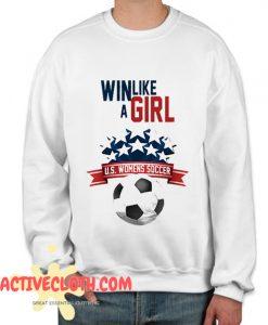 Womens Soccer Fashionable Sweatshirt