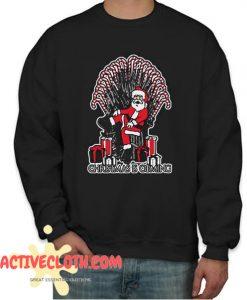Santa Christmas Is Coming Fashionable Sweatshirt