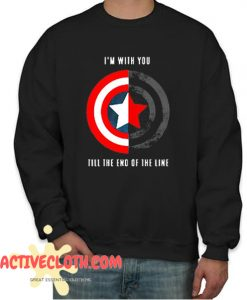Till The End Of The Line Fashionable Sweatshirt