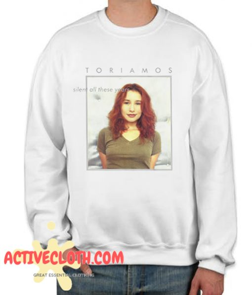 Tori Amos Silent All These Years Fashionable Sweatshirt