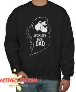 World Best Dad Fashionable Sweatshirt