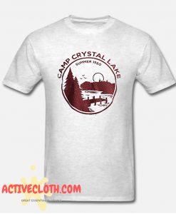 1980 Camp Crystal Lake Counselor Fashionable T-SHIRT