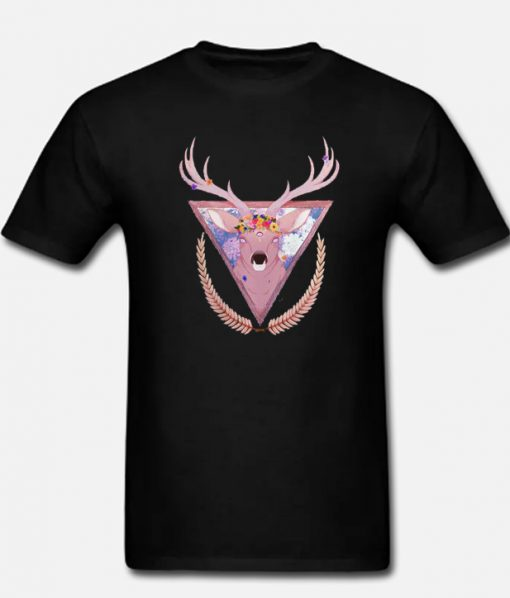 Deer Fashionable T Shirt