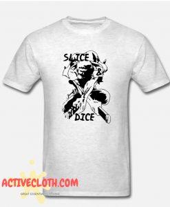Funny Slice Dice Fashionable T-SHIRT