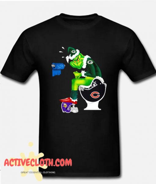 Green Bay Packers Grinch Fashionable T-Shirt