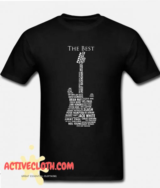 Guitar Legends 1959 American Standard Fashionable T-shirt