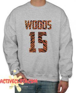 Tiger Woods 15 Major Golf Fashionable Sweatshirt